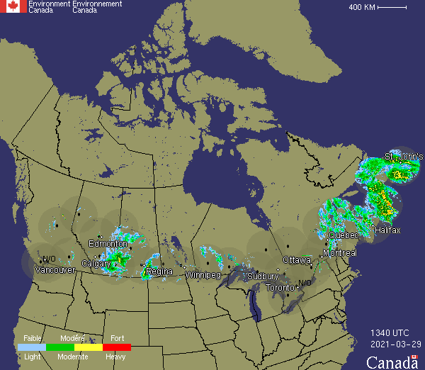 Canadian Weather Radar - Environment Canada