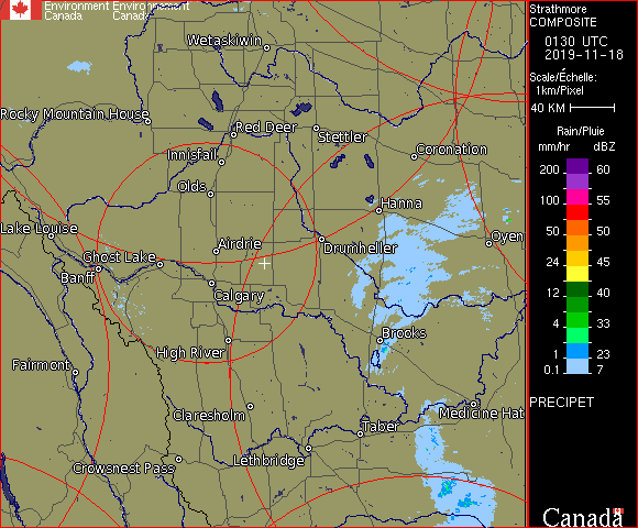 Weather Radar - Strathmore, AB - Environment Canada
